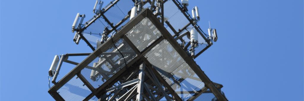 Strom - Funkmast in Varel Umspannwerk